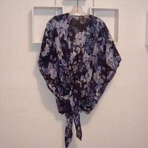 NWOT Lucky Brand Floral Kimono